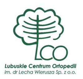 Lubuskie Centrum Ortopedii (LCO-LORO) Świebodzin, Dawid Kawka